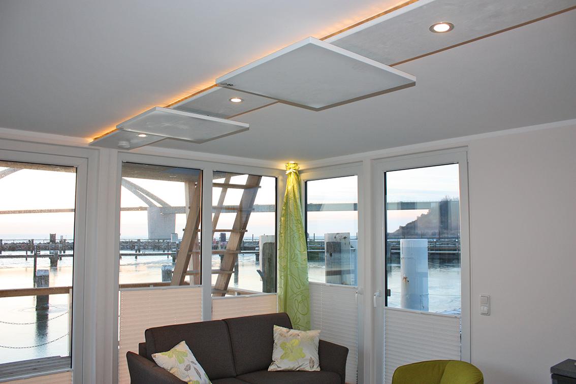 Under Dock Hausboot Infrarot-Deckenheizung