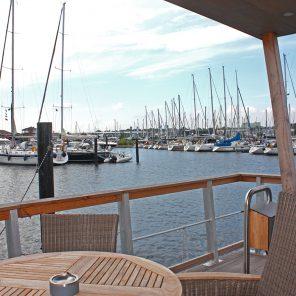 Under Dock Hausboot Terrasse